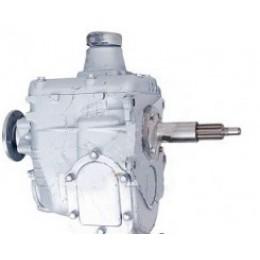 Коробка переключения передач(КПП) ГАЗ 3307-1700010-01 (4-ёх ступенчатая, круглый  фланец)